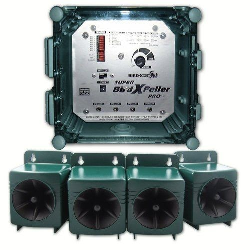 Super BirdXPeller Pro Akusztikus Madárriasztó