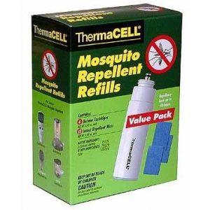 THERMACELL NO MOSQUITOS szúnyogriasztó 48h utántöltő. Nagy csomag.