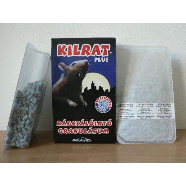 Kilrat Plusz rágcsálóirtó granulátum - 0,35 kg