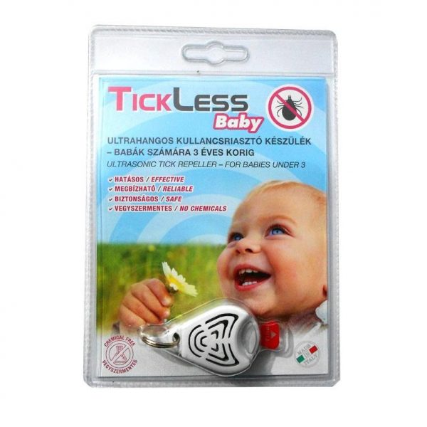 TickLess Baby - kullancsriasztó készülék babák számára
