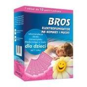 BROS Elektromos szúnyogriasztó készülék Sensitive lapkával