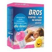 BROS Elektromos szúnyogriasztó készülék Sensitive folyadékkal
