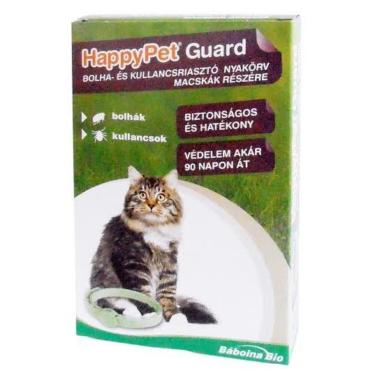 HappyPet bolha-és kullancsriasztó nyakörv- macska
