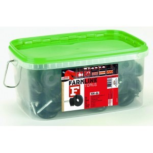 FarmLine orus F facsavaros szigetelő vezetékhez 100 db+szigetelő behajtó