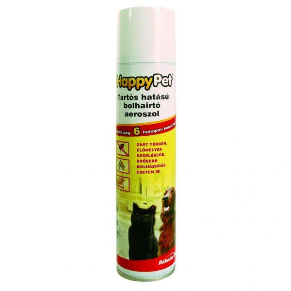 HappyPet tartós hatású bolhairtó aeroszol