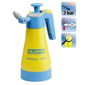 Gloria Hobby 125 finomporlasztásos kézi nyomáspermetező