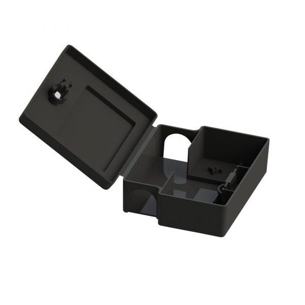 Egéretető doboz - fekete