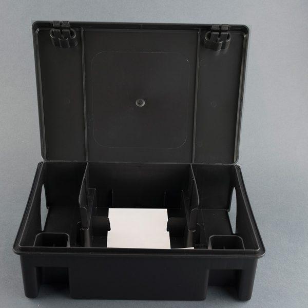 EUR raklap alá helyezhető patkányláda - fekete
