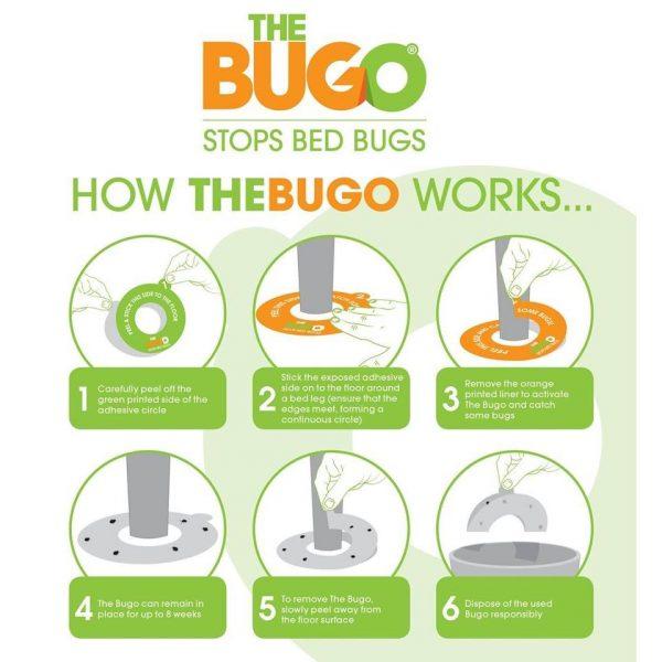 Pest-Stop BUGO ágyi poloska csapda 12db/cs