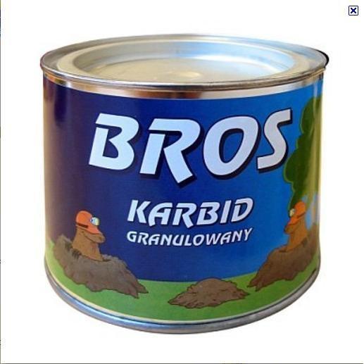 Karbid granulátum 500gr