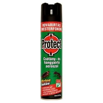Protect csótány- és hangyairtó aeroszol, 400 ml