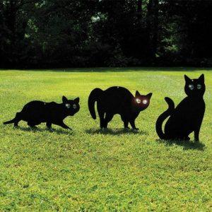 Madárriasztó Macska sziluett