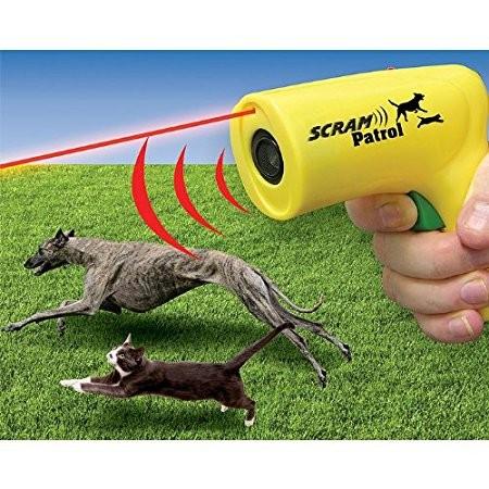 Hordozható lézeres és ultrahangos kutyaidomító