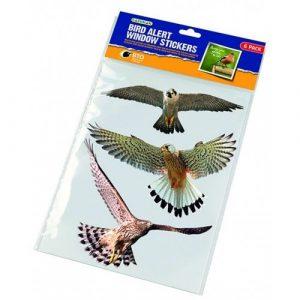 Bird Alert Window stickers madár sziluett matrica